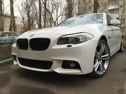 М-<b>обвес</b>: Установка <b>переднего бампера</b> — BMW 5 series, 2.0 л ...