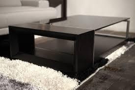 full size of window elegant black coffee tables 19 modern glass top table black coffee tables
