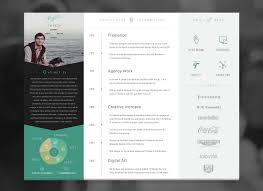 Great Resume Designs Inspiring Resume Designs To Get You Hired 22
