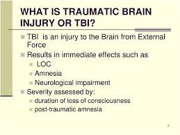 Traumatic Brain Injury Revised Va Rating Schedule For Tbi