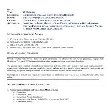 Conference Call Meeting Minutes Template 8 9 Sample Of Minutes Of Staff Meeting Project Team Meeting Minutes