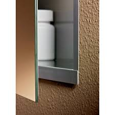 Jensen Medicine Cabinet Jensen Medicine Cabinet Illusion Stainless Steel 15w X 36h In