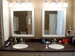 white bathroom vanity mirrors. Wood Framed Bathroom Vanity Mirrors Silo Christmas Tree Farm In Ideas 14 White G