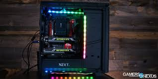 nzxt hue rgb led controller case lighting review