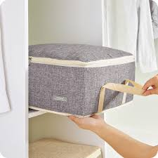 Quilt Storage Bags Cotton Luggage Bags Home Storage Organiser ... & Quilt Storage Bags Cotton Luggage Bags Home Storage Organiser Washable  Wardrobe Clothes Storing Bags Clothes Quilt Duvet Bag-in Storage Bags from  Home ... Adamdwight.com
