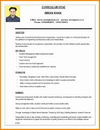 New Resume Formats Sradd For Resume Of Format Professional