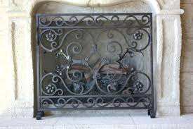 iron fireplace screen. Wrought Iron Fireplace Screen Appealing Screens With Black Vintage I