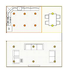 ... Placement Eight How To Place Recessed Lighting Reflected Plan ...