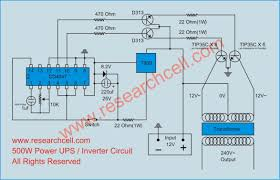 circuit diagram inverter circuit diagram