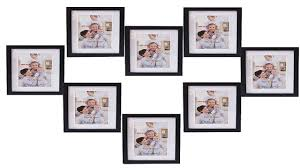 giftgarden friends gift 7 x 5 collage picture photo frames synthetic wood frame 7x5 set 8 pieces