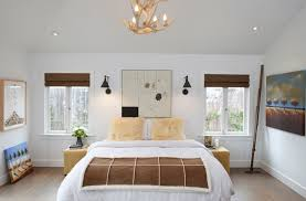 Bedside sconce lighting Contemporary View In Gallery Functional Sconce Lighting For The Bedroom Decoist How To Use Wall Sconces Design Tips Ideas