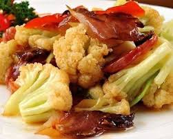 我们吃花菜的话,一般就是拿来烧肉,或者拿来炒干锅- 雪花新闻