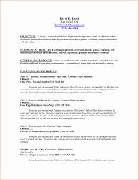 Flight Attendant Resume Template Resume Online Builder