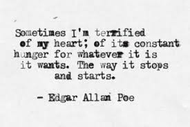 edgar allan poe the sporadic chronicles of a beginner blogger edgar allan poe heart