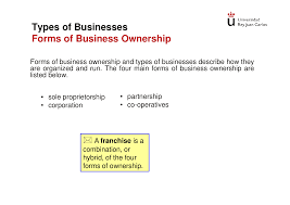 Business Ownership Types Corporate Accounting Chapter 1 Apuntes De Contabilidad