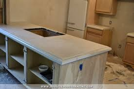 finished concrete countertops concrete countertop kit amazing rustoleum countertop transformation