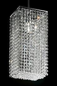 square section designer crystal chandelier masiero