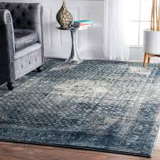best distressed area rug slate blue diy antique back to gray and white rugs large navy carpets green soft wool peacock dark teal wonderful usa reviews home