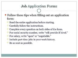 Chapter 8 Applying For A Job