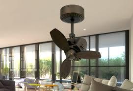 oscillating indoor outdoor rubbed bronze ceiling fan