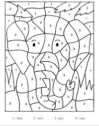 Pour Imprimer Ce Coloriage Gratuit Coloriage Magique Elephant