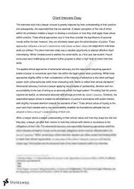 laws client interview essay laws law lawyers and laws108 client interview essay