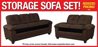 8923 storage sofa set
