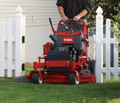 stand up riding mower. grandstand versitility stand up riding mower