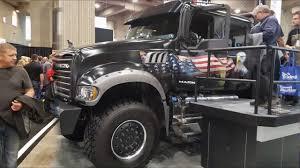 Jack Mack - pickup truck. Expocam 2017. Montreal Trucks show. Canada ...
