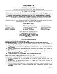 Registered Nursing Resume Registered Nurse Resume