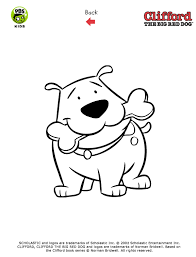 Small Picture Clifford Printables Clifford Coloring Pages PBS Kids