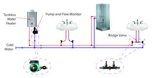 piping diagram for tankless water heater the wiring diagram tankless water heater recirculating pump hot water circulator wiring diagram