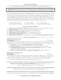 Office Administration Resume Samples Senior Administrative Assistant Resume Download Example Executive