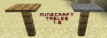 how to make a table in minecraft. Delighful Minecraft There Are Many Ways To Make Tables In This Hub I Will Show You Two The  Picture Below Shows One And Donu0027t Worry These Tables Work Even If Itu0027s Not  How To Make A Table Minecraft