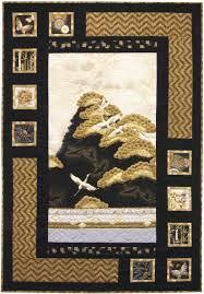 Oriental Harmony quilt, Antique color story. Made with Imperial ... & Oriental Harmony quilt, Using Panels - Antique color story. Made with  Imperial Collection. Fat quarter-friendly pattern designed by Sweet Tea  Girls. Adamdwight.com