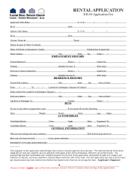 tenant application form florida tallahassee rentals real estate forms lauer real estate group
