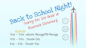 Back To School Night 2nd Grade By Molly Thomason On Prezi
