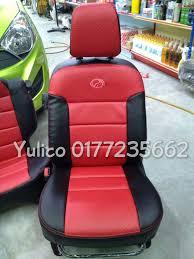 diy pvc pu leather car seat cover cushion for suzuki jimny 4 4
