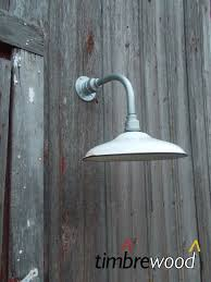 vintage barn 14 dome shade white porcelain gas station wall light