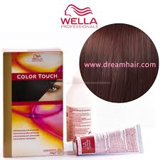 Wella Color Touch Demi Permanent Hair Color Home Kit 6 77