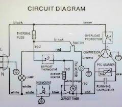 gallery 4 4 1617 within wiring diagram for refrigerator wiring refrigerator wiring diagram at Refrigerator Wiring Diagram