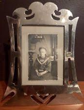 antique art nouveau picture frame sterling silver white frames72 white