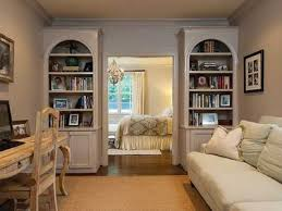 home office in master bedroom. Traditional Home Office With Hardwood Floors Builtin Bookshelf Starfish French Country Writing Desk Crown Molding In Master Bedroom O