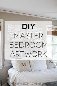bedroom artwork. diy master bedroom artwork 0