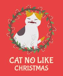 Christmas Design Template Placeit Christmas T Shirt Design Template With Cats