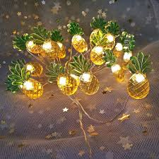 Easter Lights Amazon Easter Lights String Pineapple Decor Centerpieces For Dining Room Bedroom Table Pineapple Lights Battery Operated Lights String For Easter Island Yard