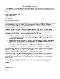 Aviation Cover Letter Example