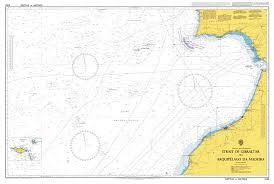 Admiralty Chart 3132 Strait Of Gibraltar To Arquipelago Da Madeira