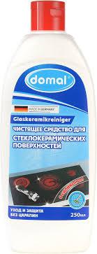 <b>Domal</b> 250мл Для стеклокерамики, жидкое <b>чистящее средство</b> ...