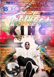 Freepsdflyer | Free Tropical King Beach Party Flyer Template For ...